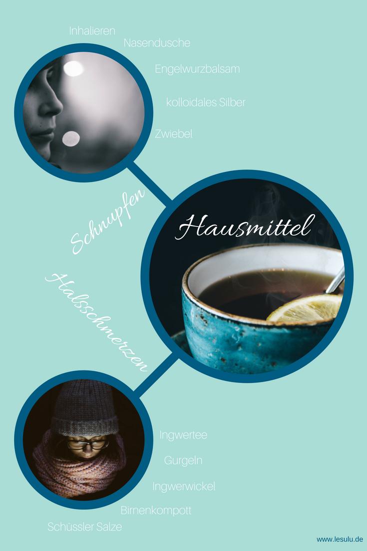 Hausmittel Infografik
